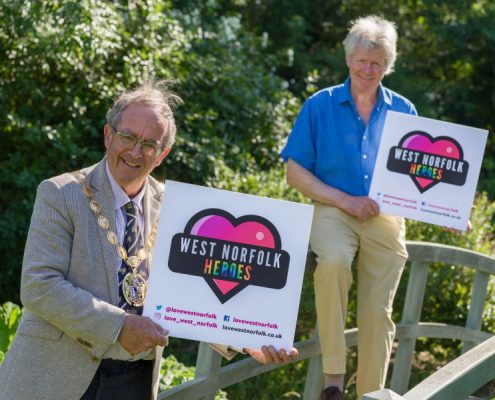 Love West Norfolk heroes campaign launch